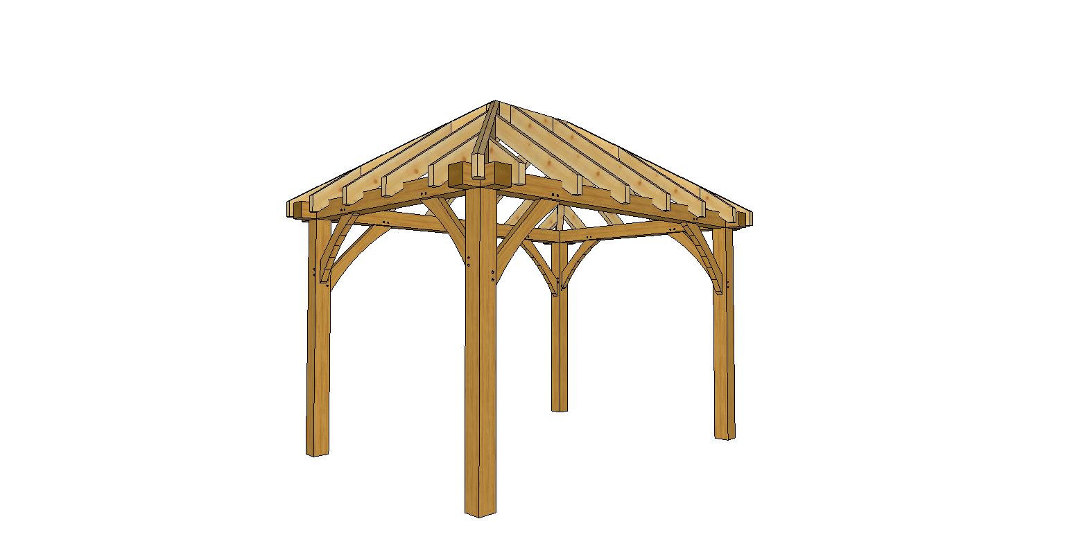Gazebo 2 5 X 3.Solid Wood Gazebo Hip Roof 2 5 3 5m Sklep Szkieletowka